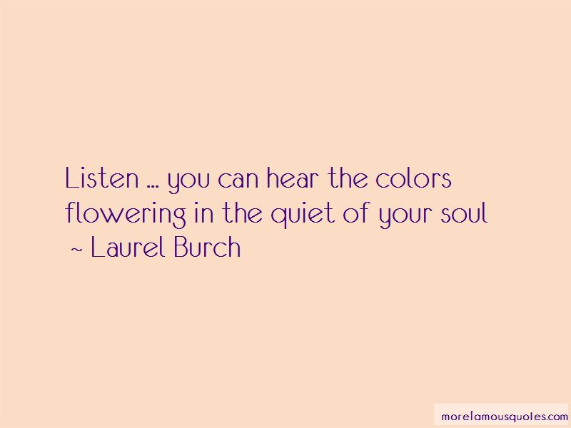 Listen Your Soul Quotes Pictures 2