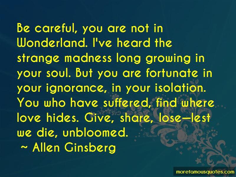 Love Hides Quotes