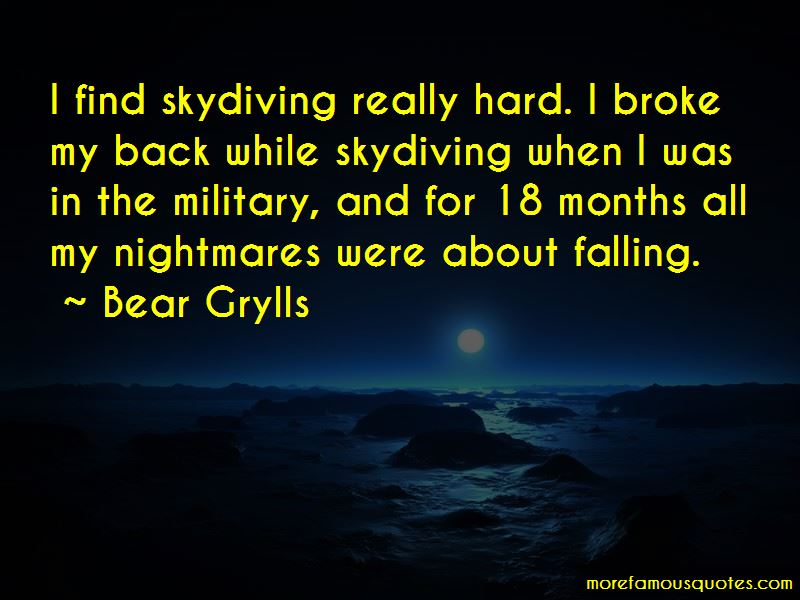 Military Skydiving Quotes