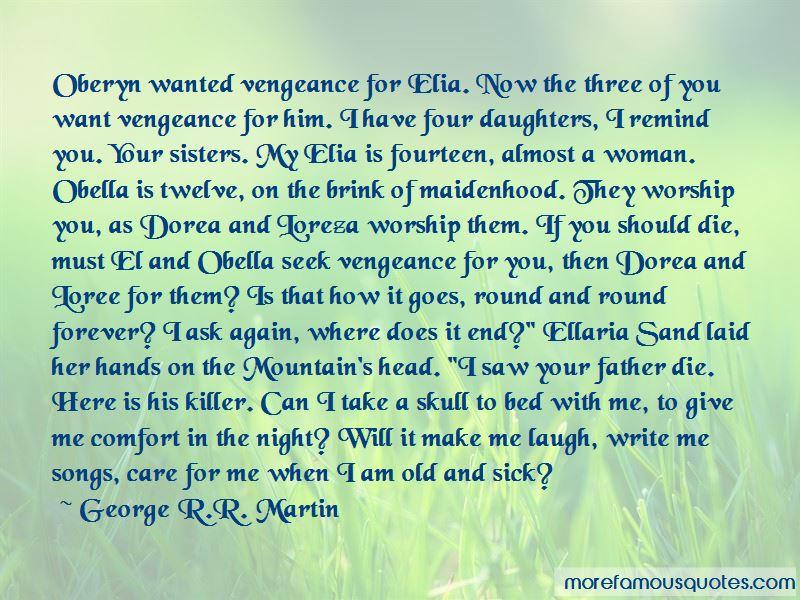 Oberyn And Ellaria Quotes