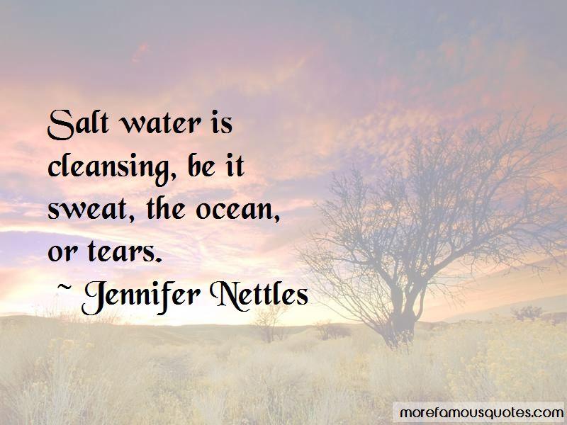 Ocean Cleansing Quotes