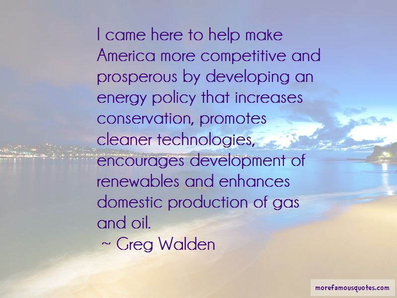 Oil And Gas Conservation Quotes