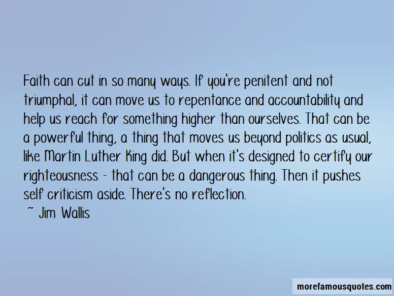Politics As Usual Quotes
