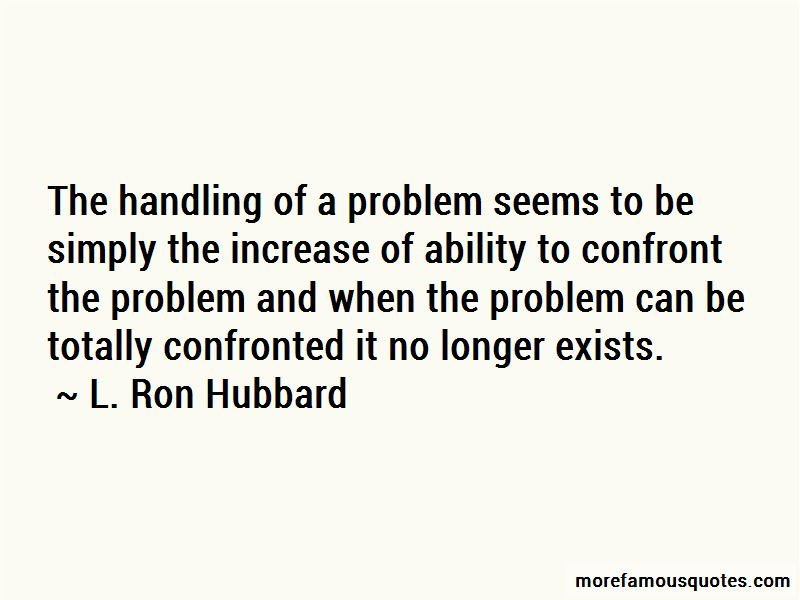 Problem Handling Quotes Pictures 4