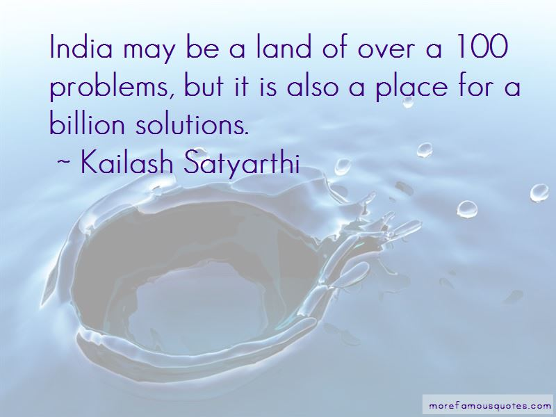 Problems Of India Quotes