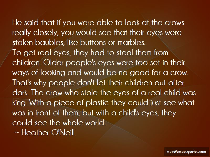 Quotes About A Child's Eyes
