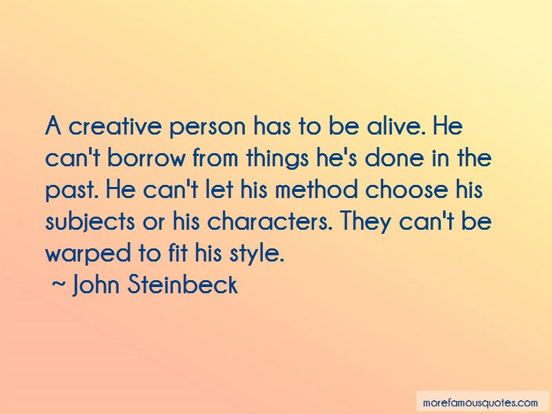 Quotes About A Creative Person