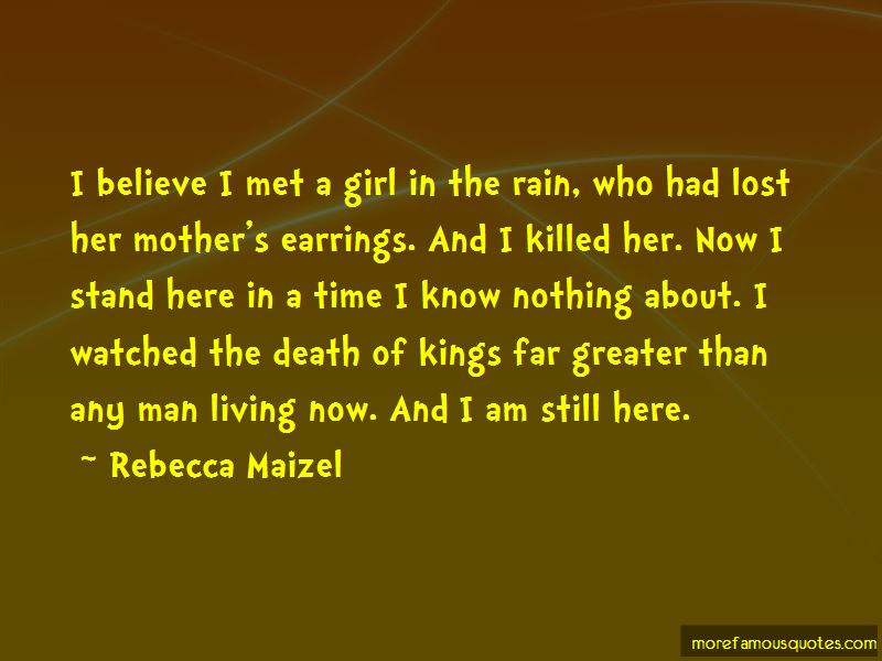 Quotes About A Girl In The Rain