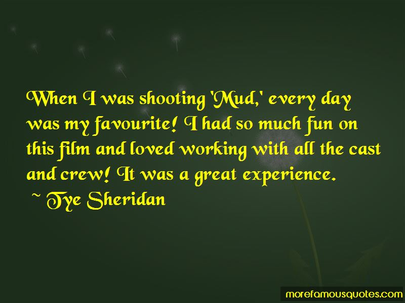 Quotes About A Great Experience