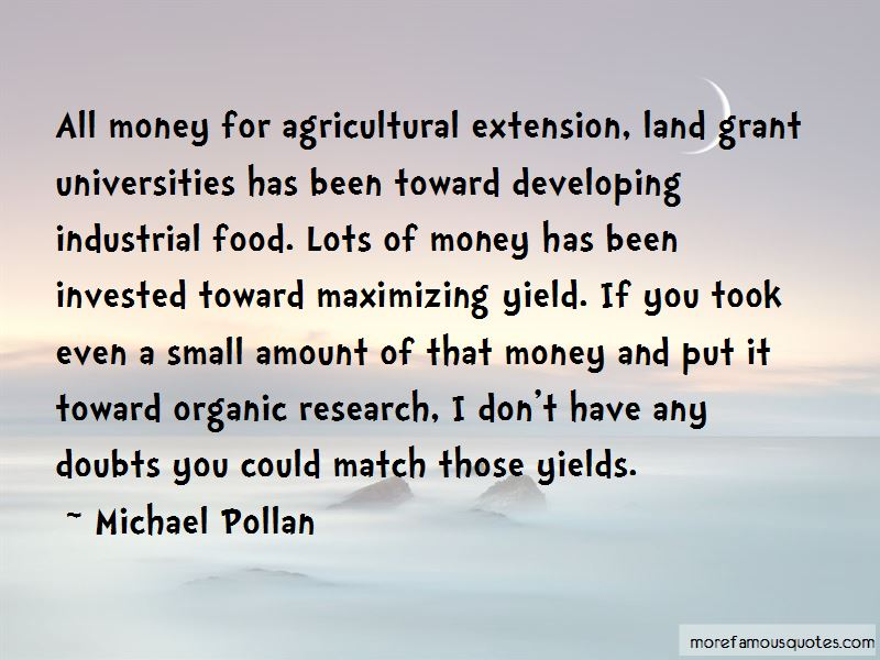 Quotes About Agricultural Extension