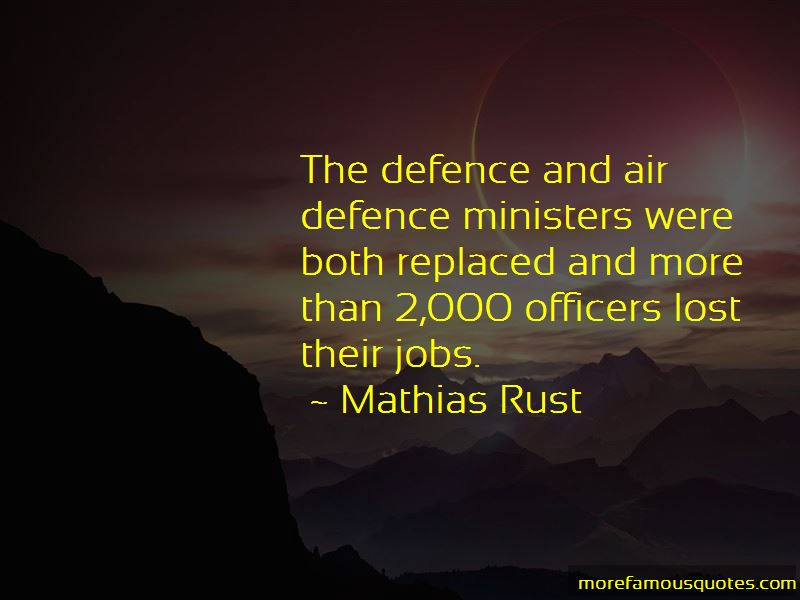 Quotes About Air Defence