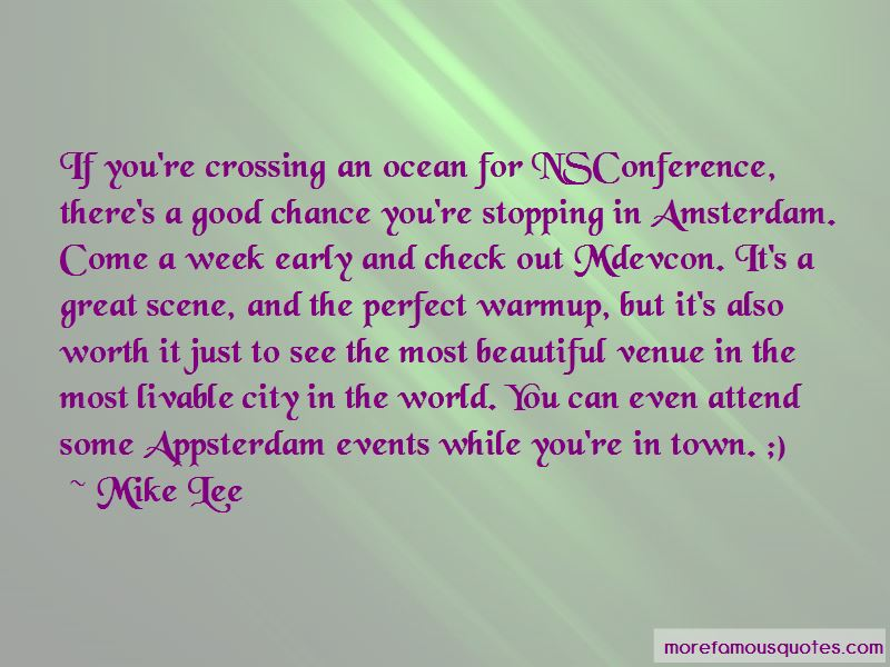 Amsterdam City Quotes Pictures 3