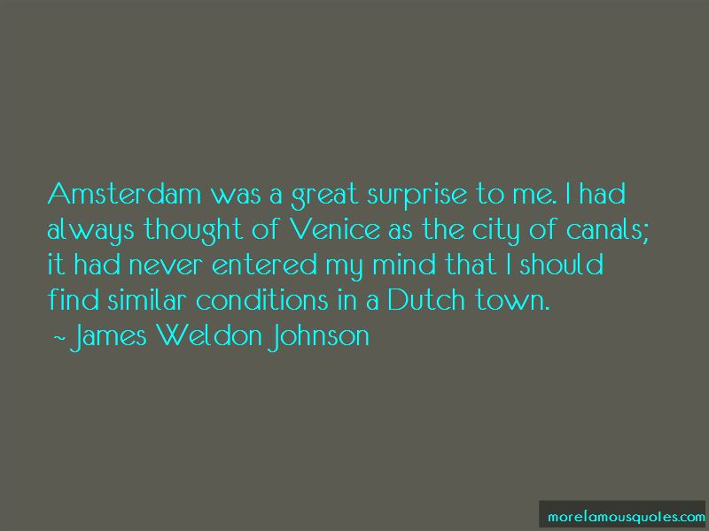 Quotes About Amsterdam City