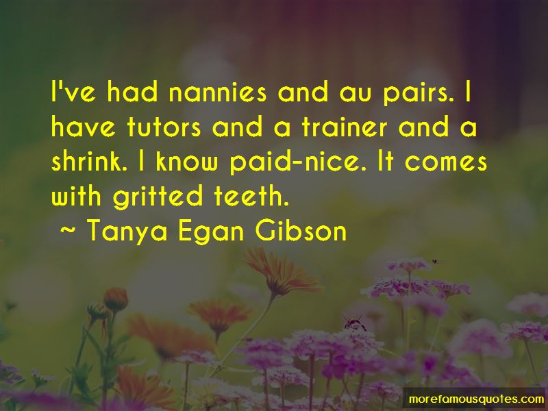 Quotes About Au Pairs