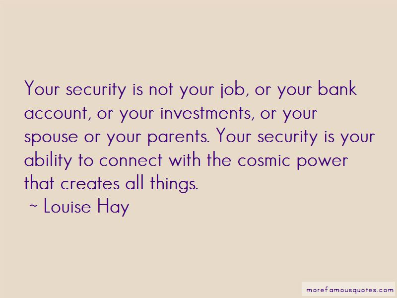 Quotes About Bank Security