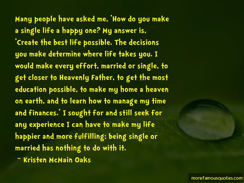 Quotes About Being Happier Single