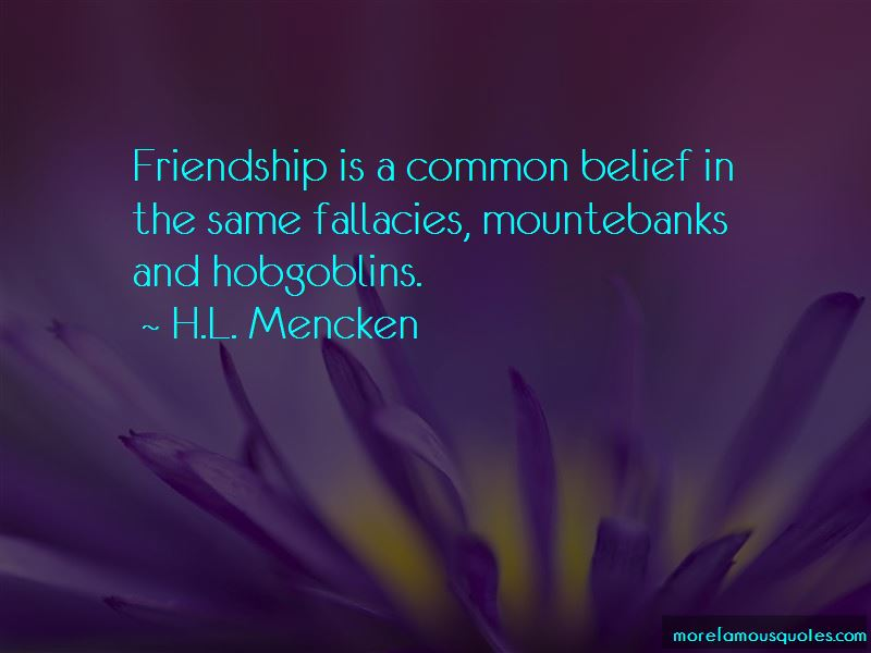 Quotes About Belief In Friendship