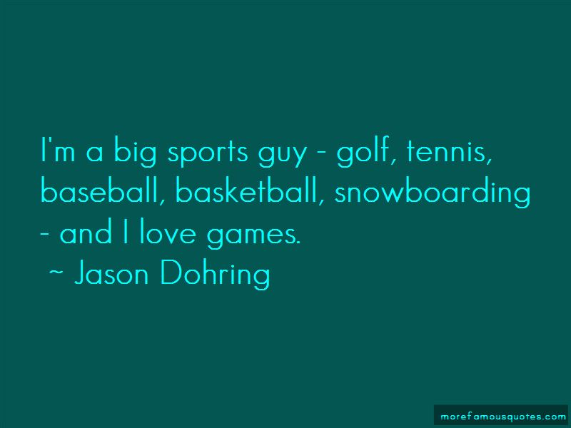 Quotes About Big Games In Sports