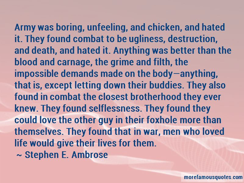 Brotherhood In War Quotes Pictures 2