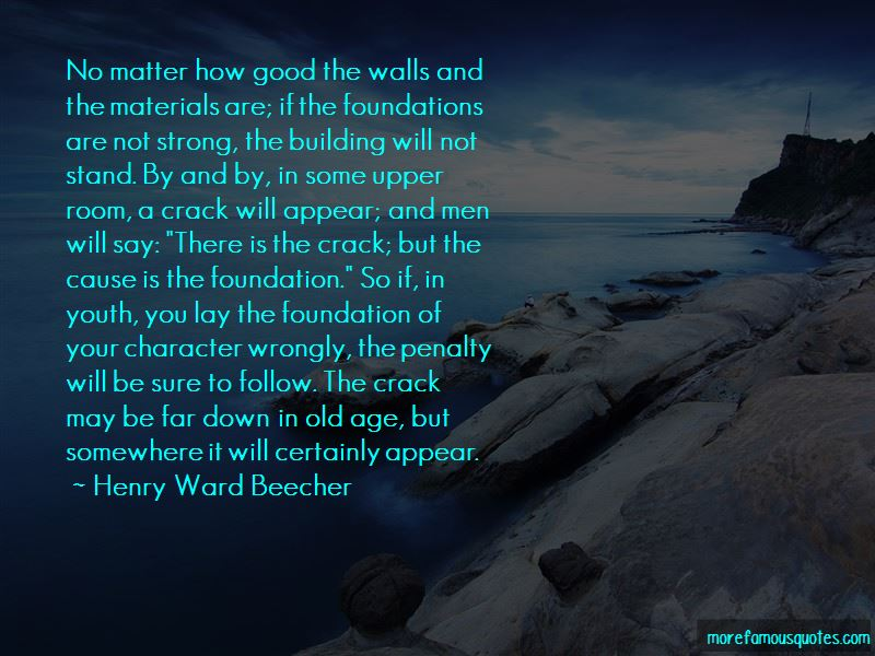 Building A Strong Foundation Quotes Pictures 2
