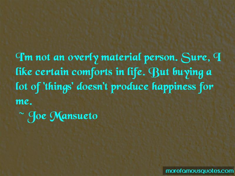 Quotes About Buying Happiness