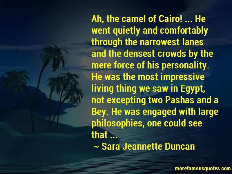 Quotes About Cairo Egypt