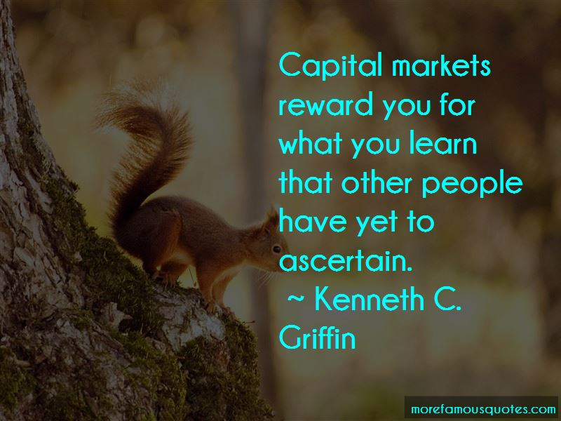 Quotes About Capital Markets