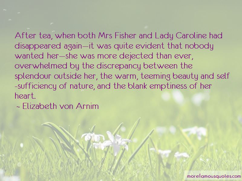 Quotes About Caroline Fisher