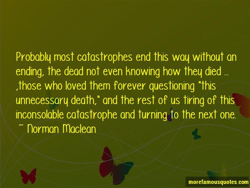 Catastrophes Quotes Pictures 4