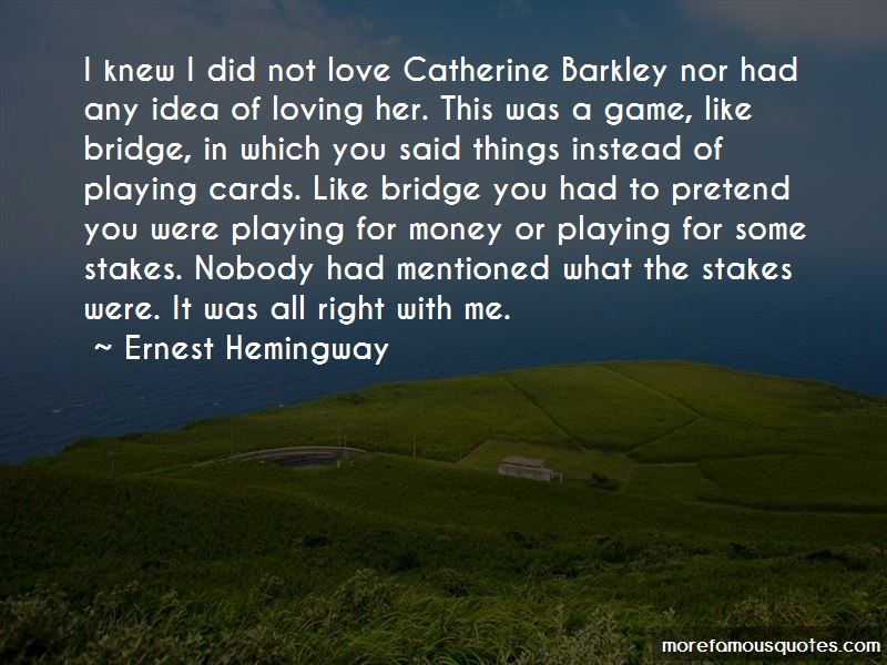 Quotes About Catherine Barkley
