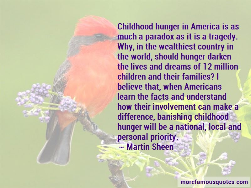 Childhood Hunger Quotes Pictures 3