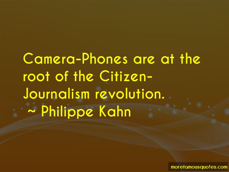 Quotes About Citizen Journalism
