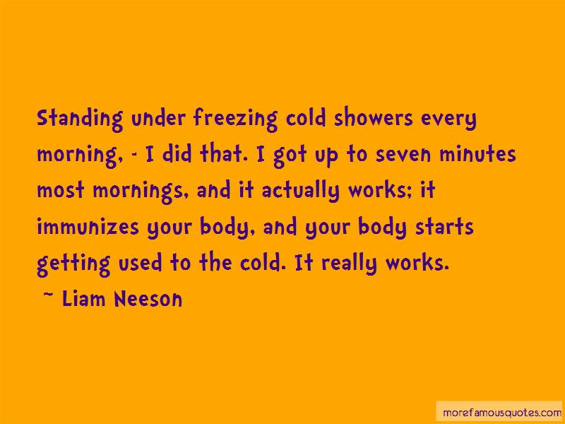 Cold Showers Quotes Pictures 3