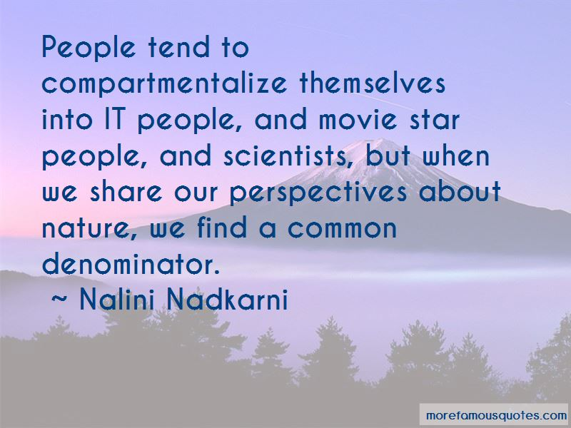 Quotes About Compartmentalize