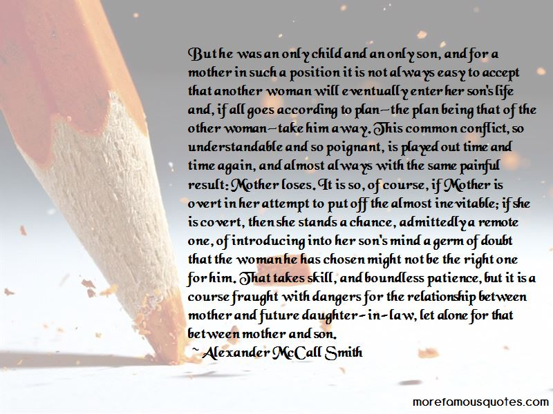 Quotes About Conflict Between Mother And Daughter