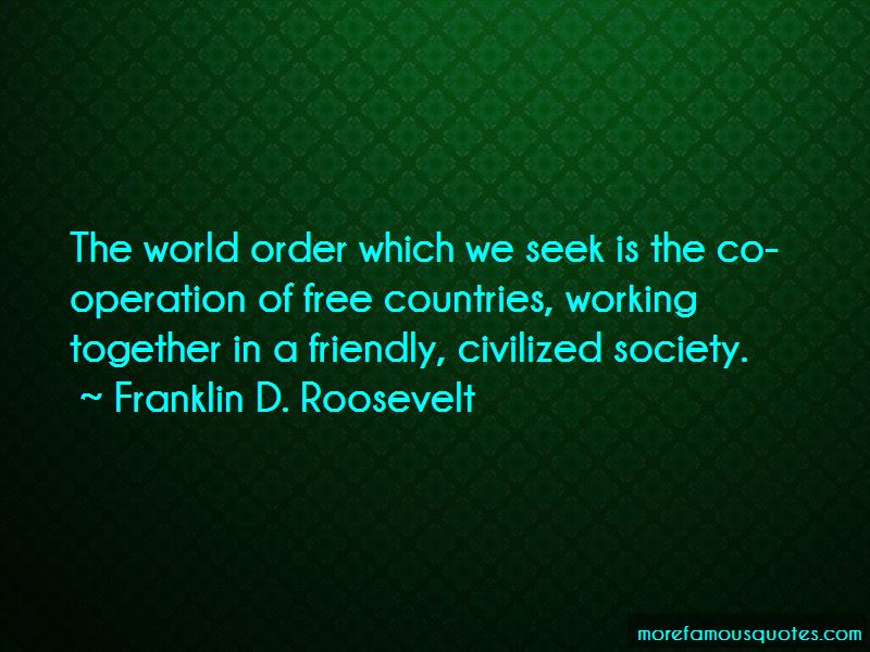 Countries Working Together Quotes Pictures 2