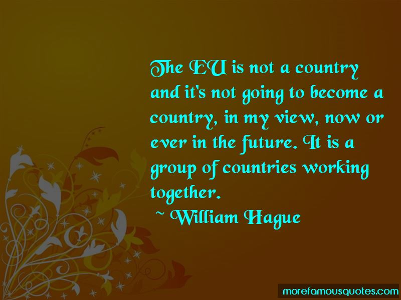 Quotes About Countries Working Together