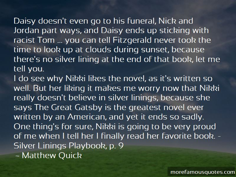 Quotes About Daisy Great Gatsby