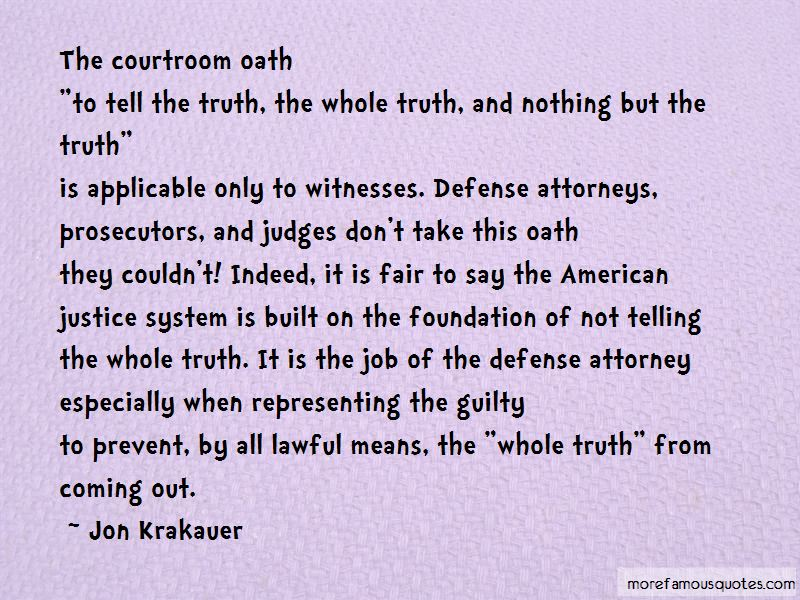 Quotes About Defense Attorneys