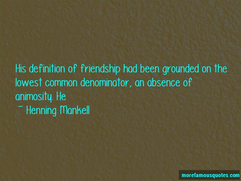 Quotes About Definition Of Friendship