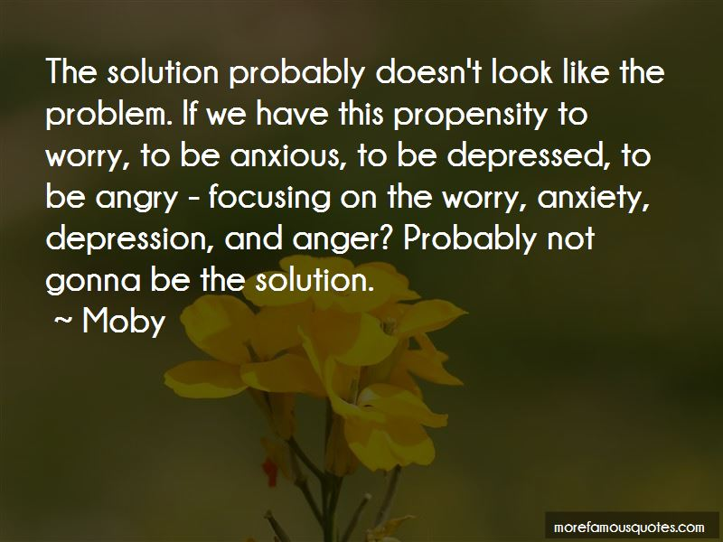 Quotes About Depression And Anger