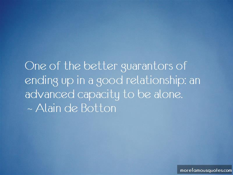 Quotes About Ending A Good Relationship