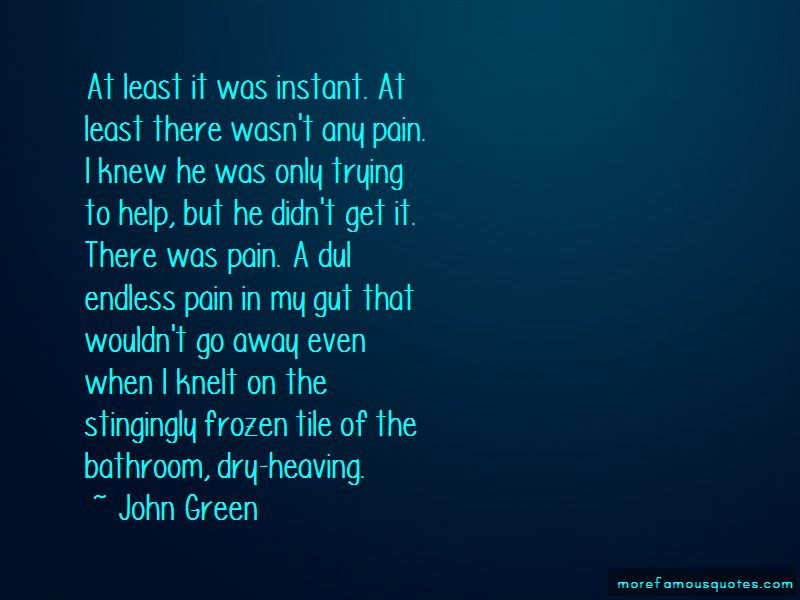 Quotes About Endless Pain