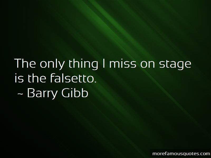 Quotes About Falsetto