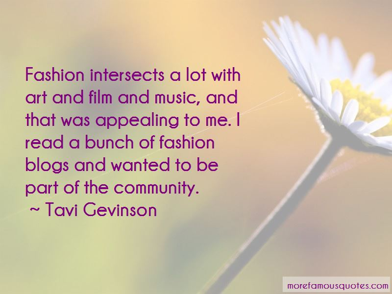 Quotes About Fashion Blogs