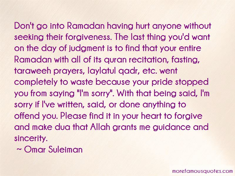 Quotes About Fasting In Ramadan