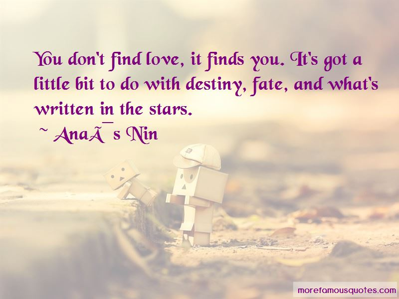 Fate And Love Destiny Quotes Pictures 4