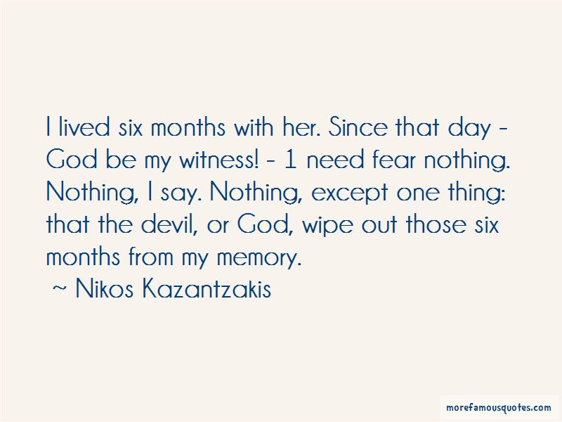 Quotes About Fear Nothing