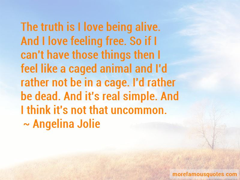 Quotes About Feeling Like A Caged Animal
