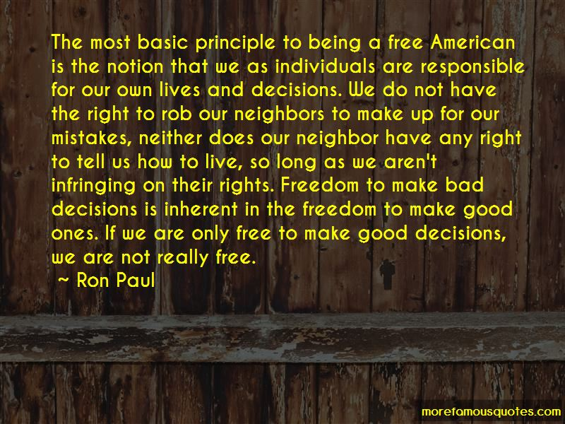 Quotes About Freedom Being Bad